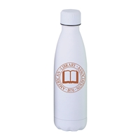 Personalized Matte White Stainless Steel 17oz Bottle