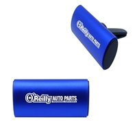 Custom Blue Clip Air Freshener with Aluminum Cover
