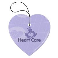 Custom Heart Tek-Scent Air Freshener