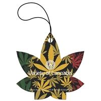 Custom Tek-Scent Air Freshener - Cannabis Leaf