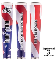 Custom American Flag Ad Pen