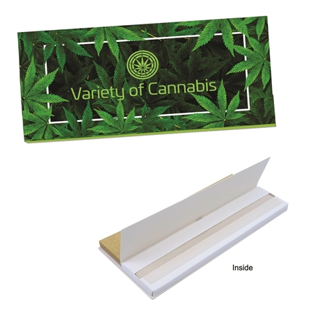 Custom Stock King Size Rolling Papers & Tips