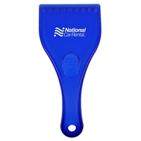 Promotional Ice Scraper in Blue