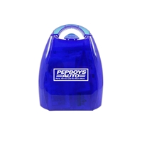 Promotional First Aid Kit with Handle in Blue