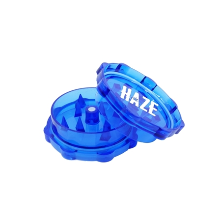Promotional Blue Plastic Grinder with Sharp Teeth