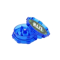 Promotional Full Color Label Plastic Grinder in Blue