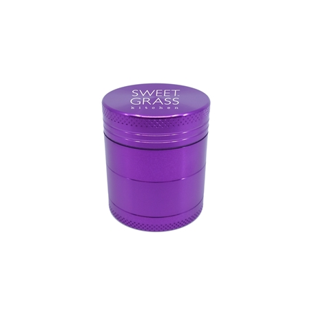 Custom Direct Printed Aluminum Grinder in Purple