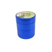 Promotional Blue Aluminum Grinder with Full Color Label