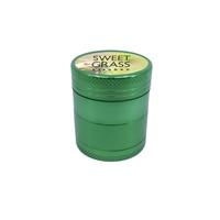 Full Color Label Aluminum Grinder in Green