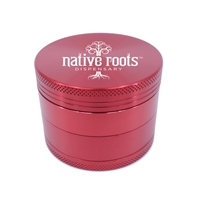 Promotional Red Aluminum Grinder with Direct Print