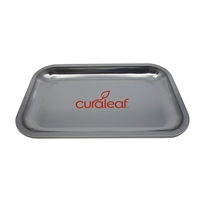 Promotional Custom Solid Silver Tin Tray