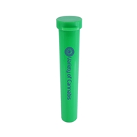 Promotional Storage Tube in Green