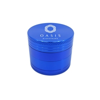 Promotional Custom Aluminum Grinder in Blue