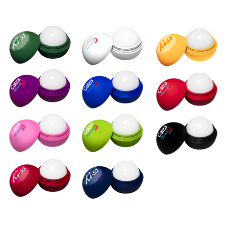Promotional Round Lip Balm