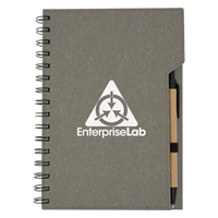 Promotional Gray Inspire Spiral Notebook