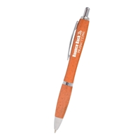 Promotional Orange Chico Wheat Writer Pen
