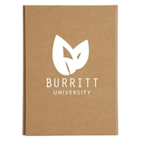 Custom Promotional Eco-Inspired Tri-Fold Stationery Book