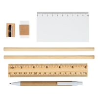 Custom Eco-Inspired Tri-Fold Stationery Set