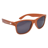 Custom Promotional Orange Wheat Malibu Sunglasses
