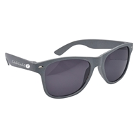 Custom Wheat Malibu Sunglasses in Gray