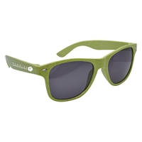 Promotional Wheat Malibu Sunglasses in Green