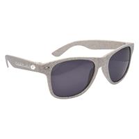 Promotional Natural Toned Wheat Malibu Sunglasses