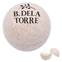 Custom Natural Toned Wheat Lip Moisturizer Ball