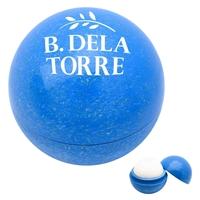 Blue Custom Wheat Lip Moisturizer Ball