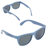 Promotional Wheat Straw Sunglasses in Blue