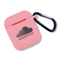 Promotional Pink Silicone Airpod Cover