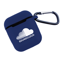 Custom Navy Blue Silicone Airpod Cover