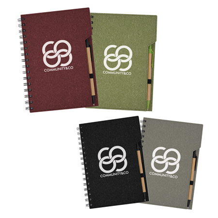 Custom Imprinted Inspire Spiral Notebook