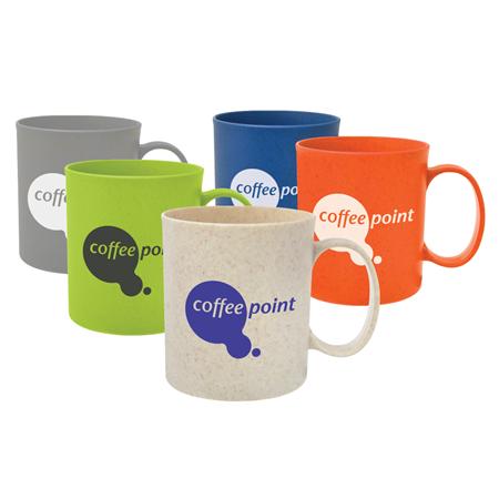Custom Printed 12 oz. Wheat Mug