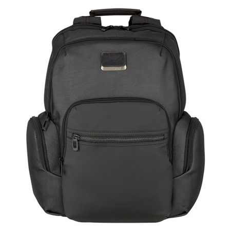 Custom Promotional Harrison Reflective Backpack Front View