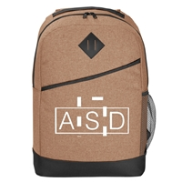 Custom Promotional Beige High Line Backpack