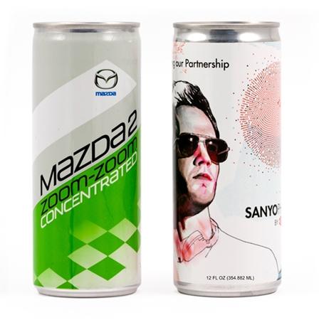Custom Printed 12 oz Energy Drink