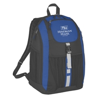 Custom Deluxe Backpack in Blue