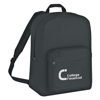 Promotional Classic Backpack in Black