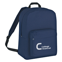 Promotional Navy Classic Backpack