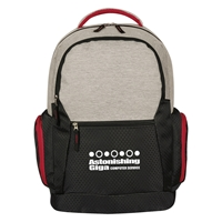 Custom Promotional Urban Laptop Backpack in Red