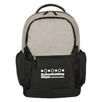 Promotional Urban Laptop Backpack in Black