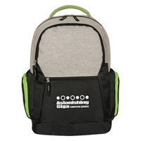 Promotional Lime Green Urban Laptop Backpack