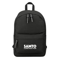 Custom Promotional Black 100% Cotton Backpack