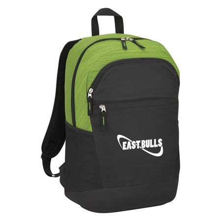 Promotional Custom Lime Green Tahoe Heathered Backpack