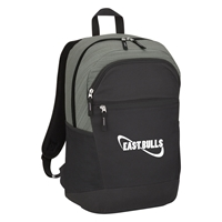 Custom Gray Tahoe Heathered Backpack
