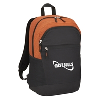 Promotional Tahoe Heathered Backpack in Orange
