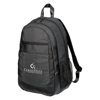 Custom Promotional Gray Performance Backpack