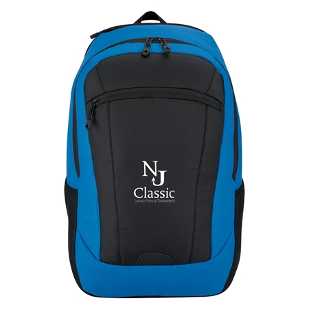 Custom Promotional Blue Compact Chroma Backpack