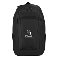 Custom Promotional Compact Chroma Backpack in Black