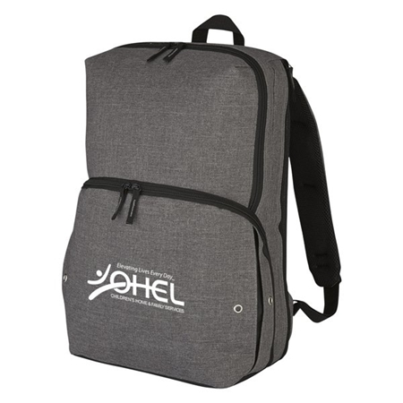 Custom Promotional Gray Sneaker Backpack